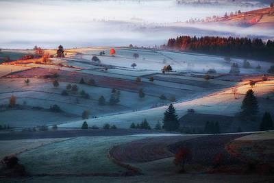 Autumn Hills Photograph - Mist by Amir Bajrich