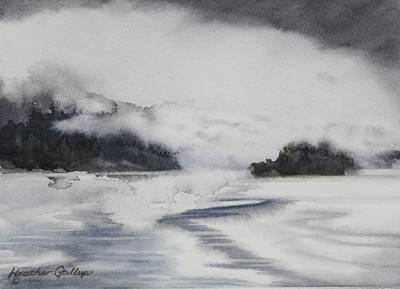Gallup Painting - Mist And Fog by Heather Gallup