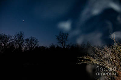Photograph - Mist And Moon by Doug Kean