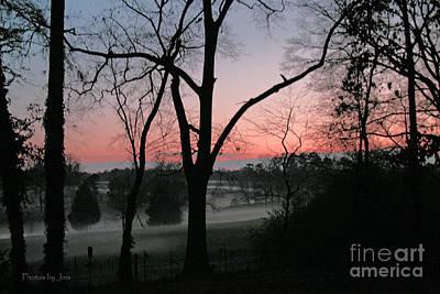 Mist At Sunset Art Print by Jinx Farmer