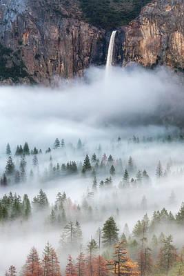 Yosemite Wall Art - Photograph - Mist Falls by Brandon Yoshizawa
