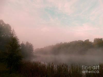 Photograph - Mist Of Morning River by Scott B Bennett