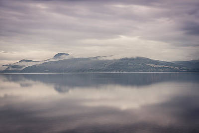 Loch Ness Photograph - Mist On Loch Ness by Chris Dale