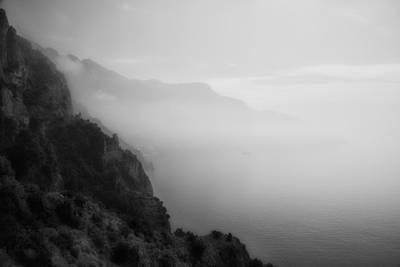 Mist On The Amalfi Coast Print by Hugh Smith