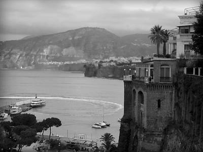 Photograph - Mist On The Amalfi Coast Italy  by Lucinda Walter
