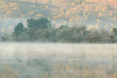 Mist Over Grasmere Art Print by Ashley Cooper