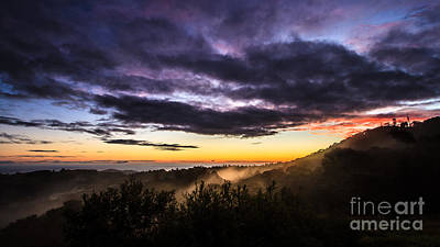 Photograph - Mist Rising In Bunya Mountains by Peta Thames