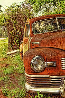 Antique Automobiles Photograph - Mister Brown by Toni Hopper