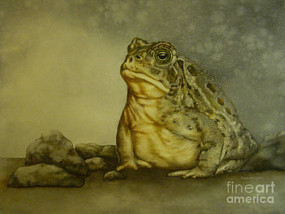 Painting - Mister Toad by Nan Wright