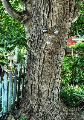 Mister Tree Art Print by Mel Steinhauer