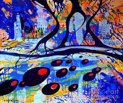 Painting - Mistero by Alice Alicja Cieliczka