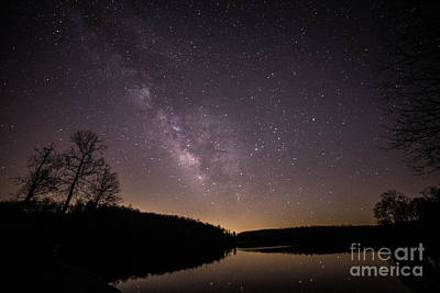 Milky Way Photograph - Misting Up The Milky Way by Robert Loe