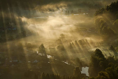 Haze Photograph - Mist,light And Silence. by Artistname