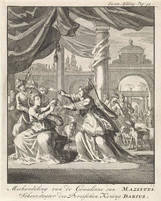 Mistreatment Of Women Of Masistes, Jan Luyken Art Print