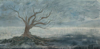 Mist Painting - Mistree by Emily Magone