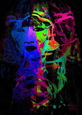 Mystical Women Mixed Media - Mistress Of Dreams by Natalie Holland