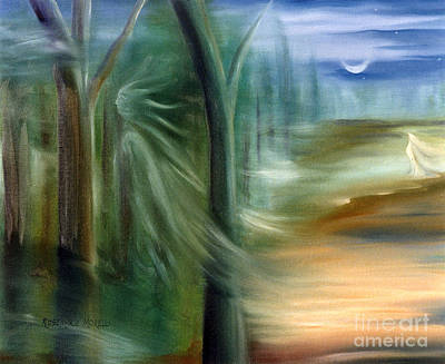 Excalibur Painting - Mists Of Avalon by Rosemarie Morelli