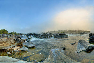 Photograph - Mists Of Great Falls by Metro DC Photography