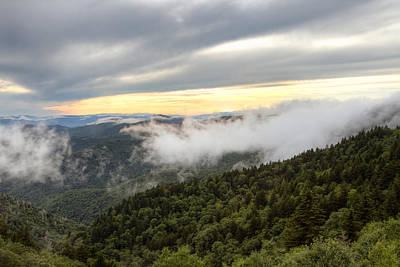 Photograph - Mists Of The Blue Ridge by Aaron Morgan
