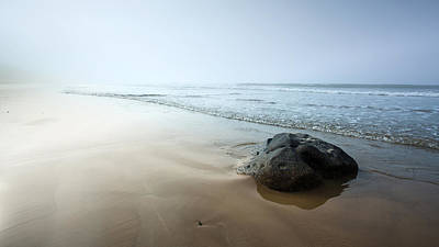 Photograph - Misty Beach by Brad Grove