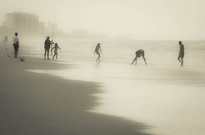 Photograph - Misty  Beach by Christy Usilton