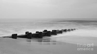 Photograph - Misty Beach Morning by Mark Miller
