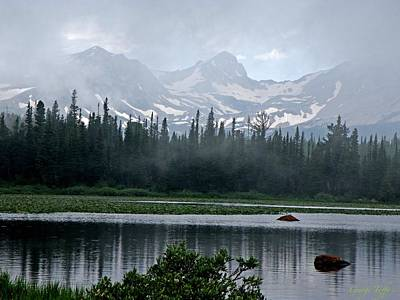 Photograph - Misty Beauty by George Tuffy