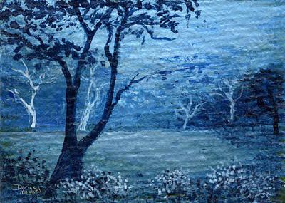 Painting - Misty Blue by Darice Machel McGuire