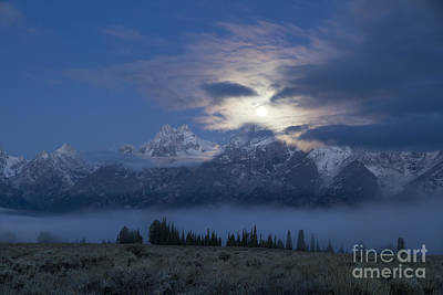Misty Blue Persuasion Art Print by Idaho Scenic Images Linda Lantzy