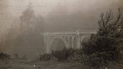 Photograph - Misty Bridge by Katie Wing Vigil