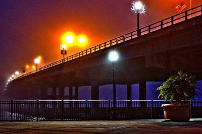 Photograph - Misty Bridge by Tyson Kinnison