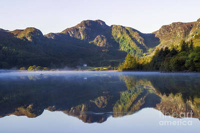 Photograph - Misty Dawn Lake by Ian Mitchell