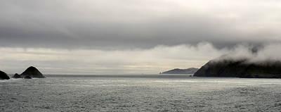 Misty Day On The Blasket Islands Art Print by Barbara Walsh