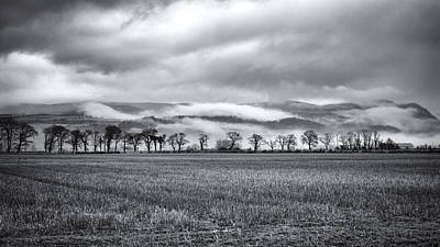 Photograph - Misty Day On The Trossachs by Zoe Ferrie