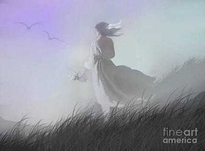 Misty Encounter Art Print by Robert Foster