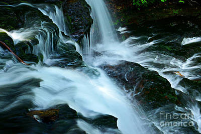 Photograph - Misty Falls - 72 by Paul W Faust -  Impressions of Light