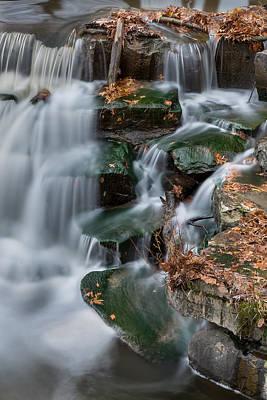 Berea Wall Art - Photograph - Misty Falls by Brad Hartig - BTH Photography