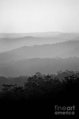 Photograph - Misty Hills by David Benson