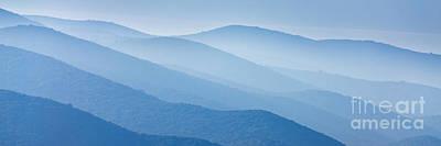 Croatia Photograph - Misty Blue Hills by Rod McLean