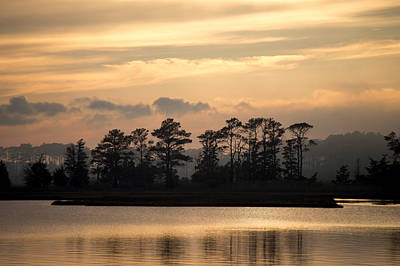 Misty Island Of Assawoman Bay Art Print