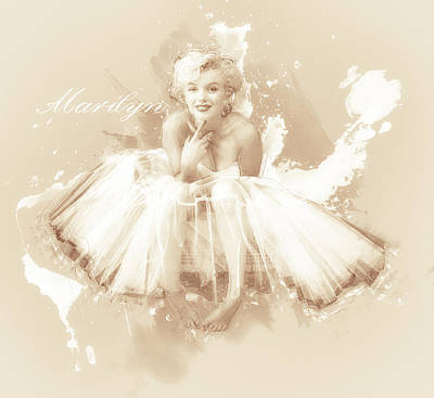 Marilyn Photograph - Misty Marilyn by Carter Jones