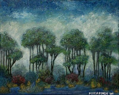 Painting - Misty Marsh by Michael Heikkinen