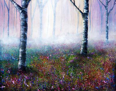 Misty Memories Art Print by Ann Marie Bone