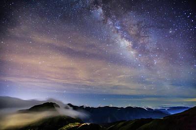 Photograph - Misty Milky Way by Samyaoo