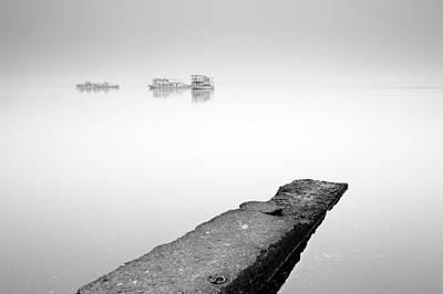Photograph - Misty Mist On Loch Lomond by Grant Glendinning