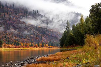 Photograph - Misty Montana Morning by Mary Jo Allen
