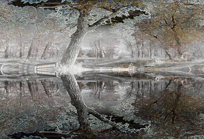 Misty Morn 1 Art Print by Stuart Turnbull