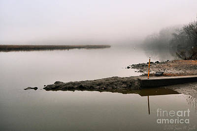 Susan M. Smith Photograph - Misty Morning Calm by Susan Smith