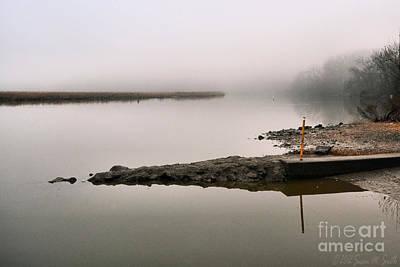 Misty Morning Calm Art Print