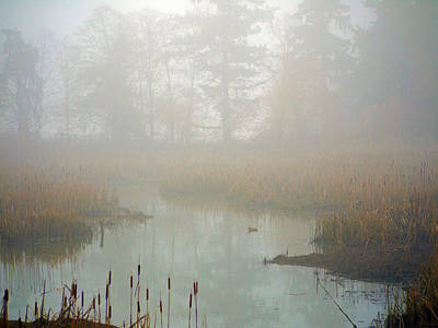 Art Print featuring the photograph Misty Morning by Jordan Blackstone